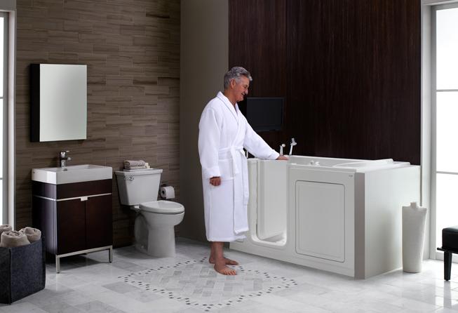 Senior Bathrooms | Walk In Bathtub | Shower Seats